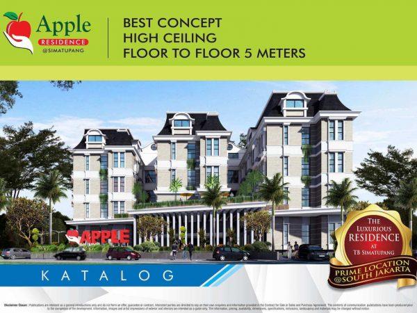Apartemen Apple Residence Hunian Mewah dan Elegan di Jakarta Selatan