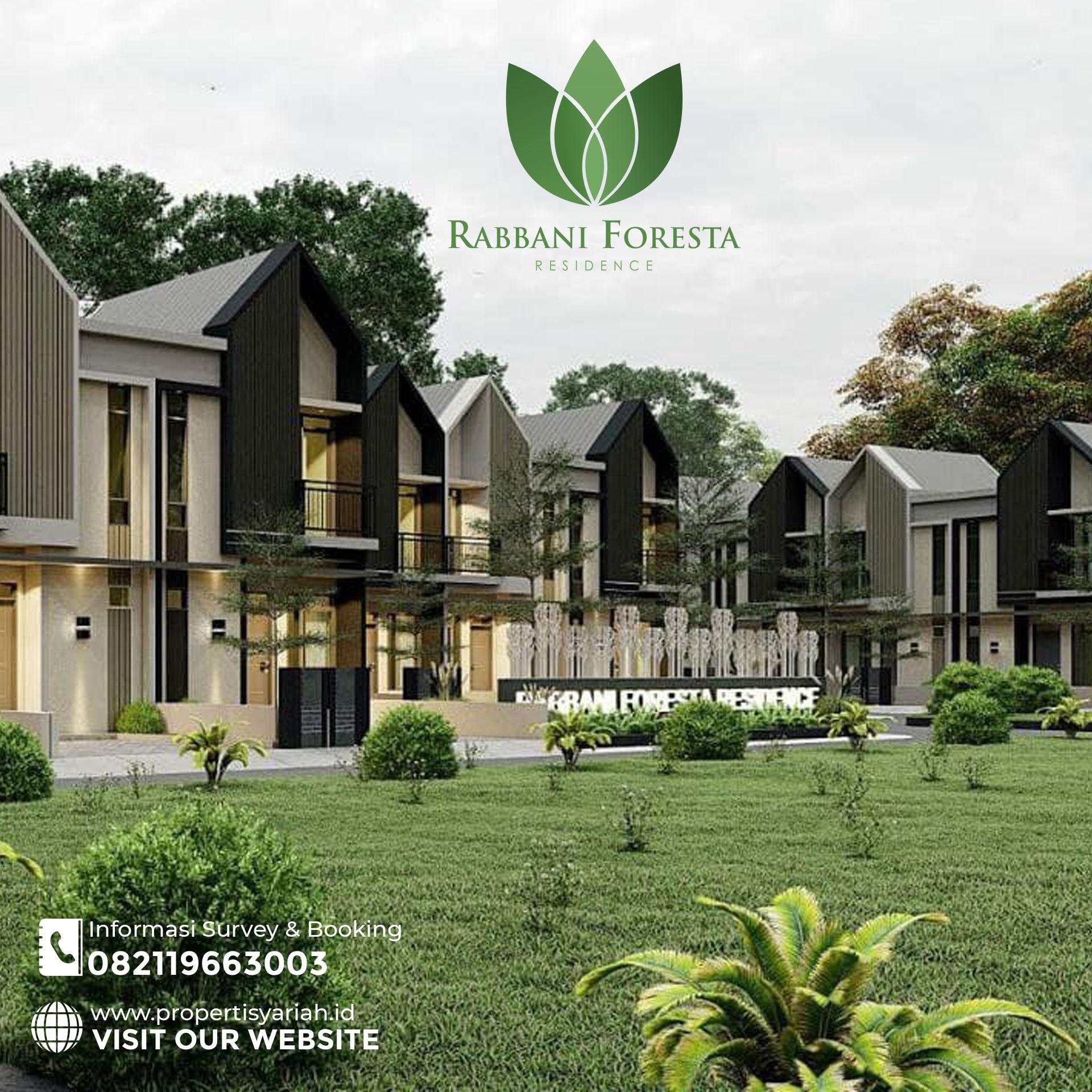 Rabbani Foresta Residence, Hunian Islami Super Strategis Kota Bogor